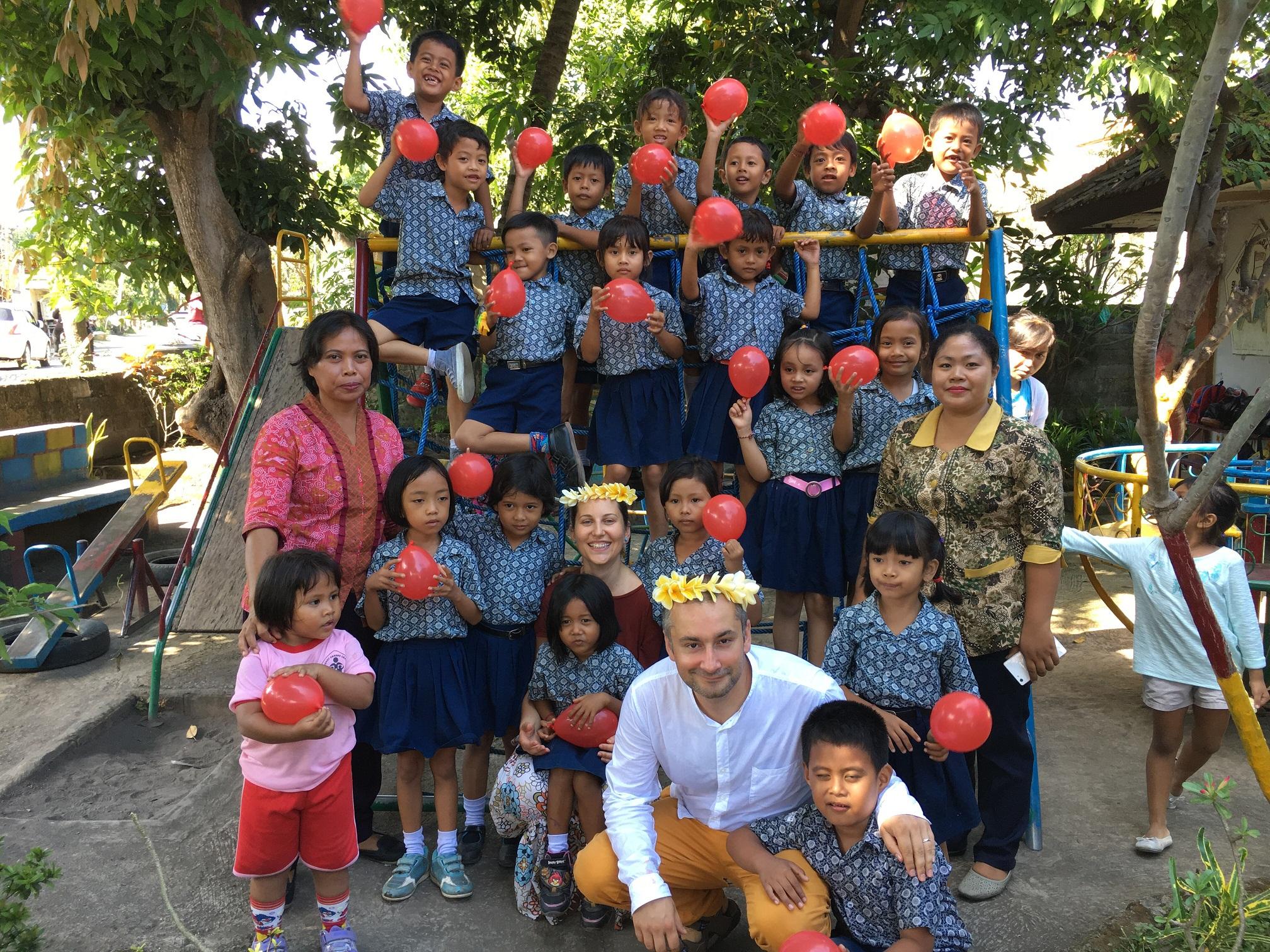 Voluntariatul meu în Bali